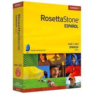Rosetta Stone 3.4.5 - программа для Win и MAC (включая все уровни изучения Испанского)